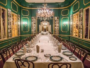 The Rex dining room in Antoine's restaurant, New Orleans. (courtesy: Antoine's)