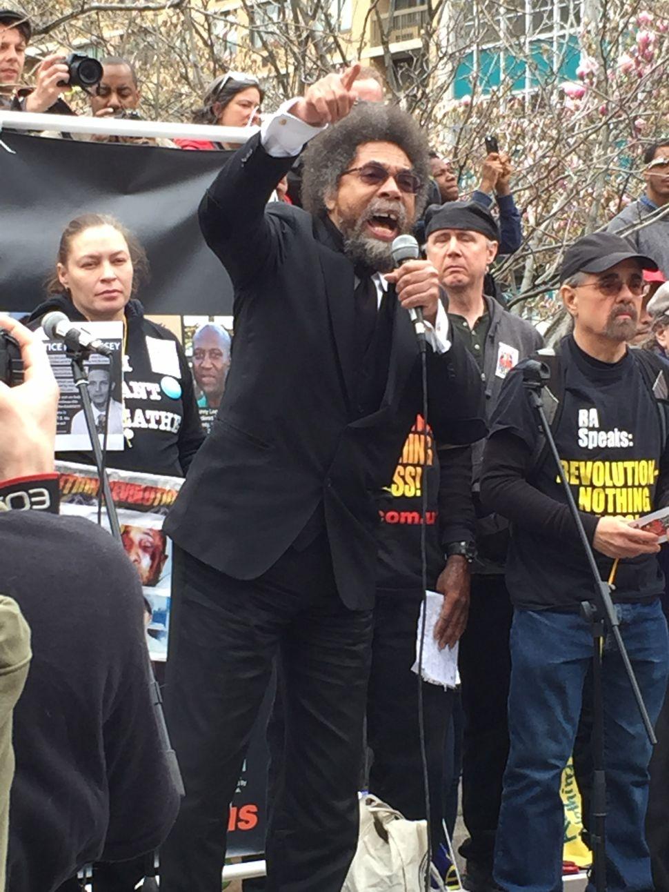 Cornel West Headlines Union Square Rally Against Police Killings