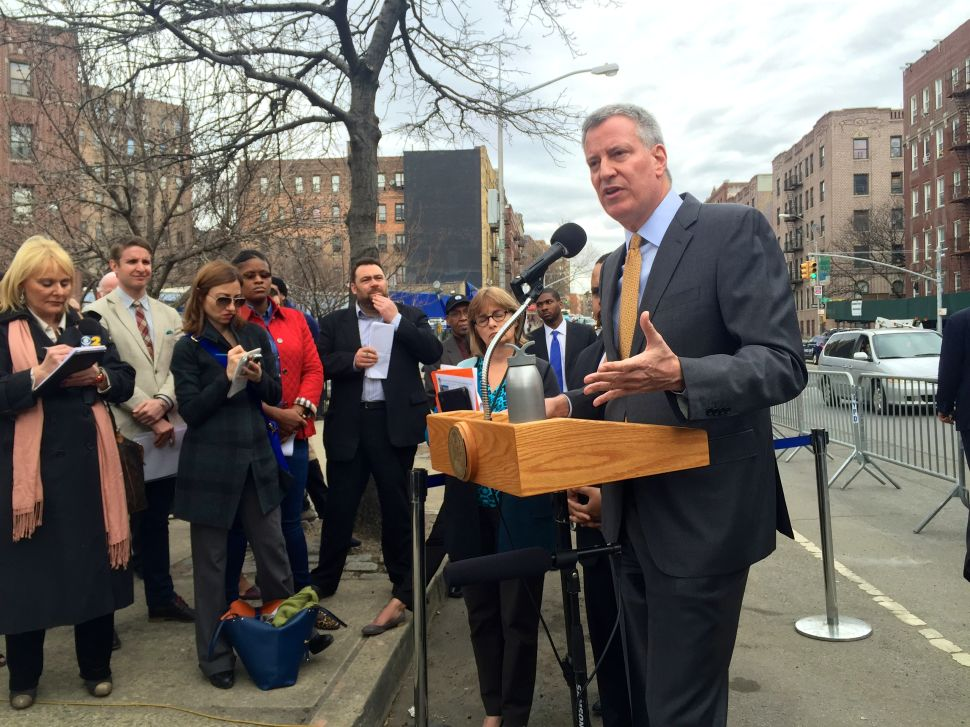 De Blasio Says His Decision Not to Endorse Clinton Yet Shouldn't Be a Surprise