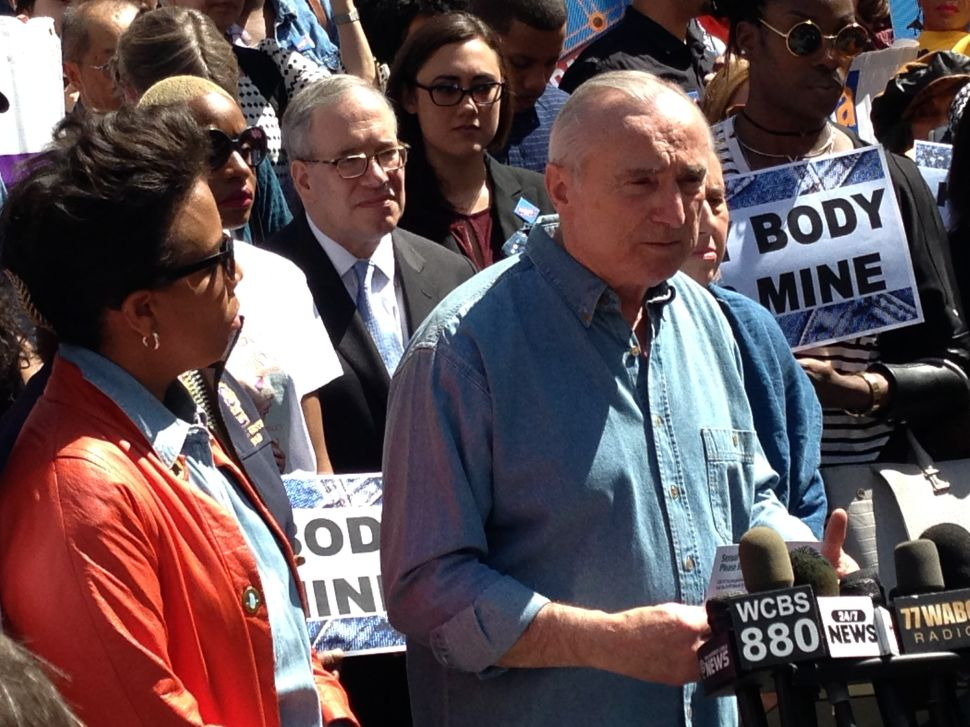 Dressing Down for Denim Day, Bratton Asks for Help Fighting Sexual Assault