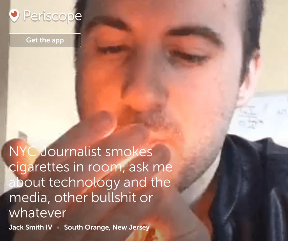 Periscope Jesus: What I've Learned So Far as a Periscope Micro-Celebrity