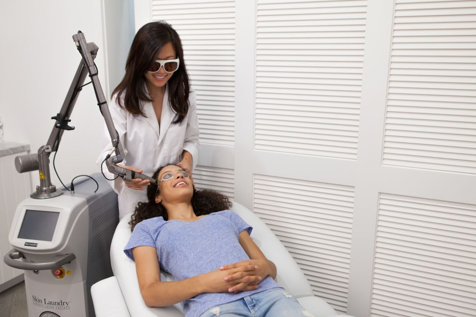 Hair Extensions Fast and Lunchtime Laser Treatments Are Forcing Beauty Salons to Re-Think Services