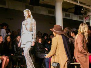 Jonathan Simkhai's F/W 2015 show at MILK Studios. Cara Genovese/New York Observer