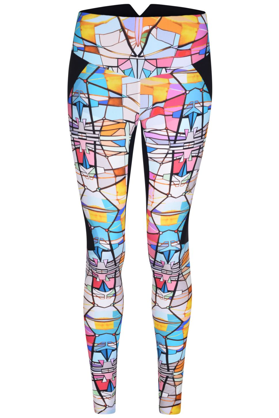 Stained-Glass Leggings Are Perfect for Those Who Work Out Religiously