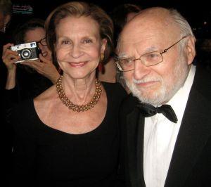 Literary Agent Lynn Nesbit with Victor Navasky, former editor of The Nation Magazine