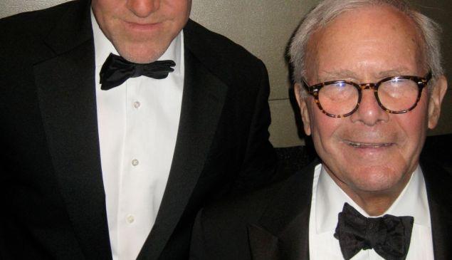 Mark Leibovich and Tom Brokaw