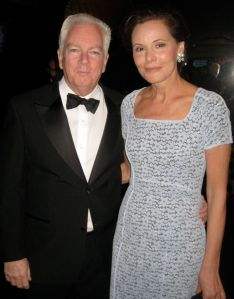 Michael Shnayerson and his wife, Gayfryd. Michael has published a new biography of Gov. Cuomo.