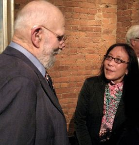 Michiko Kakutani and Oliver Sacks