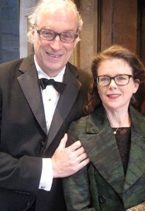Morgan Entrekin and his wife, Rachel Cobb