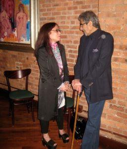 NY Times critic Michiko Kakutani and Knopf's Sonny Mehta