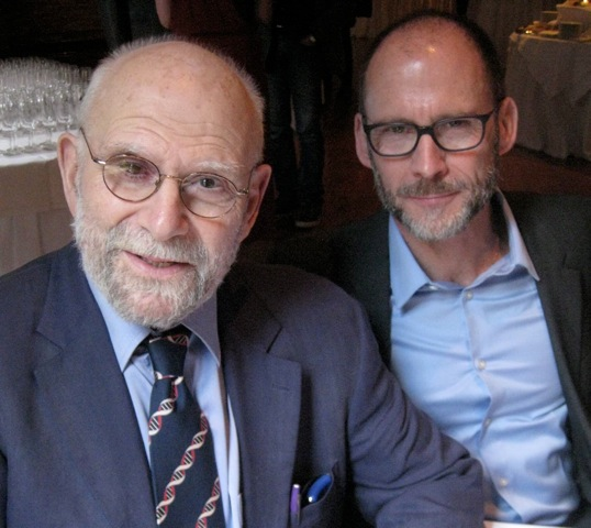 Oliver Sacks Toasted for the Release of New Book, 'On the Move'