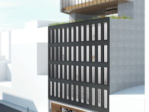 Pace Gallery's proposed new headquarters on West 25th Street. (Courtesy: Pace Gallery)