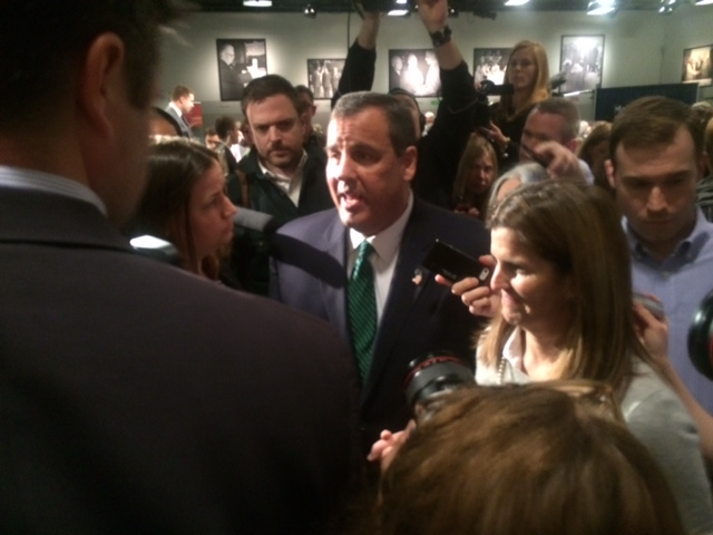 In opening speech of NH trip, Christie targets fed entitlement spending, slams Obama
