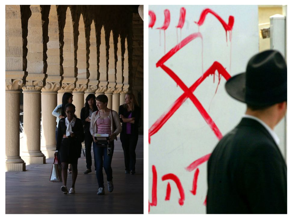 An Epidemic of Jew Hatred at American Colleges