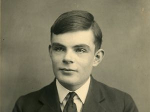 Alan Turing (Photo: The Sherbone School).