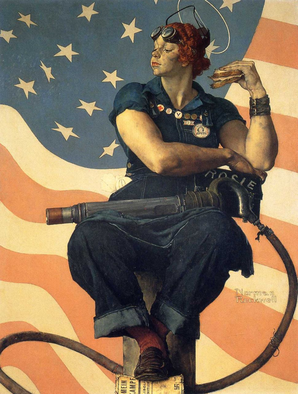 Mary Doyle Keefe, Model for Norman Rockwell's 'Rosie the Riveter,' Dies at 92