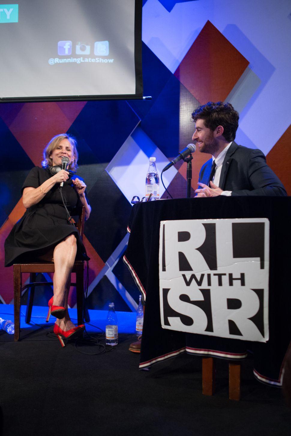 With Dad as Sidekick, Talk Show Host Scott Rogowsky Kibitzes With Comedy Icons