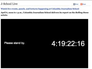 Columbia Countdown