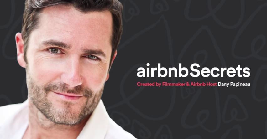 Actor Ditches Successful Film Career to Become a Professor of Airbnb