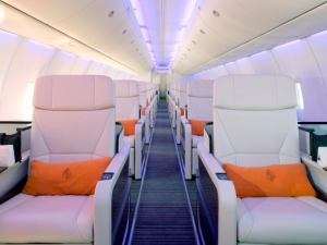 The interior of the jet. (Photo: The Four Seasons)