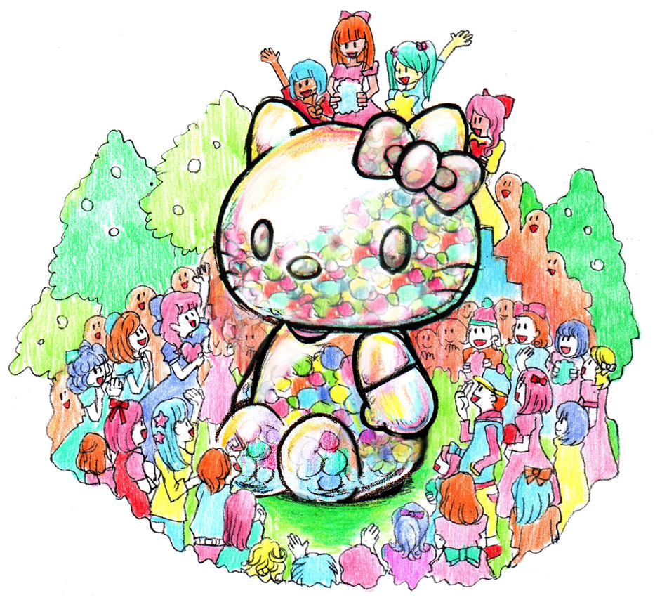 A Giant Hello Kitty Time Capsule Is Headed for Midtown Manhattan