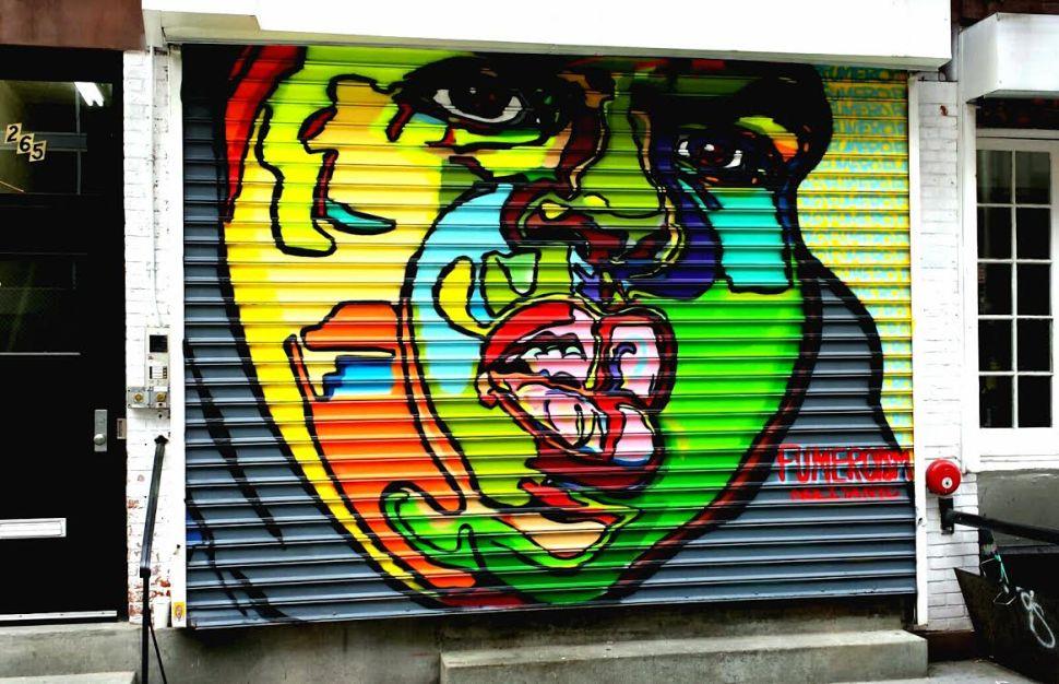 Is Biggie Smalls Becoming New York's Street Art Saint?