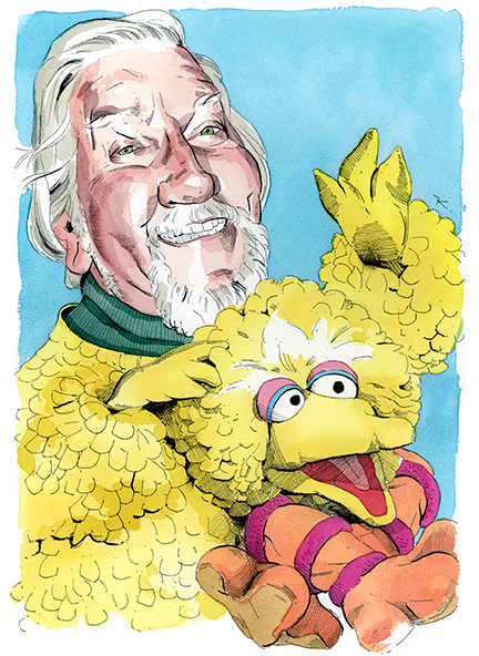 Big Bird Puppeteer Caroll Spinney Chirps About Life on the Street and Couch Surfing