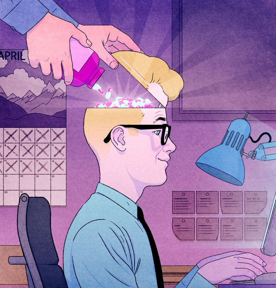 Nootropic Brain Drugs Rise in Popularity for Today's Cutthroat Corporate Climbers