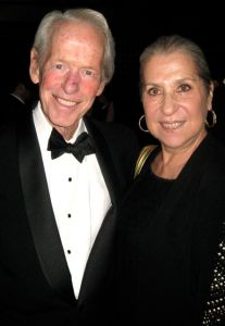 Writers Robert Massie and Letty Cottin Pogrebin, former Presidents of the Authors Guild