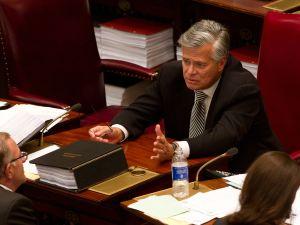 State Senate Majority Leader Dean Skelos. (Photo: Matthew Cavanaugh for Getty Images)