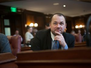 Councilman Corey Johnson, chair of the health committee. (Photo: William Alatriste/New York City Council)