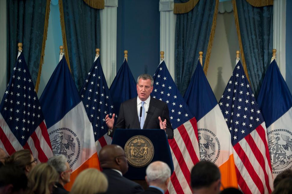 A $78.3 Billion Budget With No New Cops, but de Blasio Open to 'Compromise'