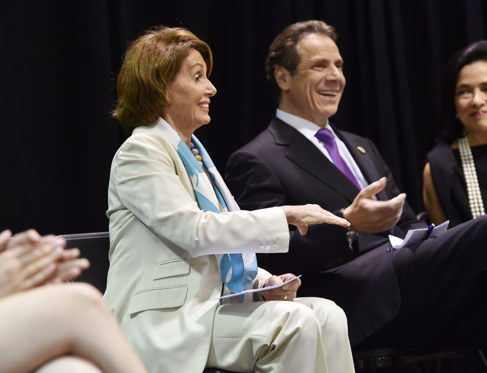 Nancy Pelosi Backs Andrew Cuomo's Push for Nation's 'Toughest' Campus Rape Law