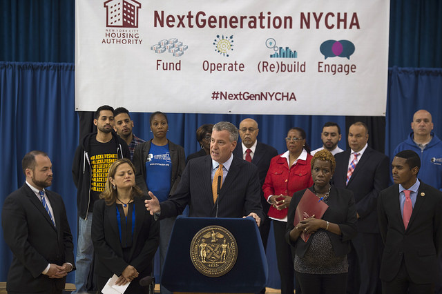 De Blasio Reveals Plan to Solve 'Worst Financial Crisis' in NYCHA History