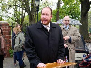 Councilman David Greenfield today. (Photo: Ross Barkan/New York Observer)