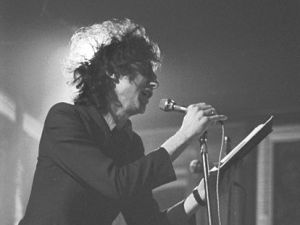 John Cooper Clarke in 1979. (Courtesy Wikipedia)