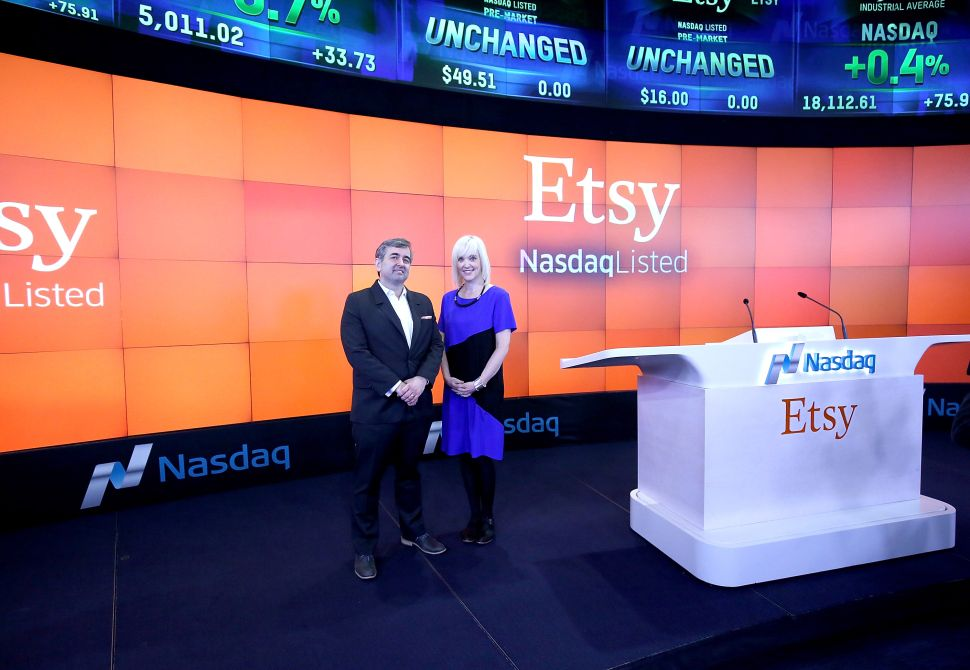 Report: Etsy Has a Happiness Index and Leadership Dens