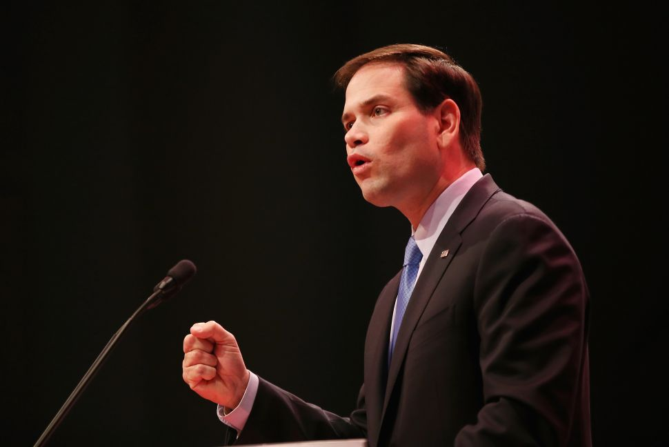 Marco Rubio Says America's Physical Strength Has 'Deteriorated' Under Obama