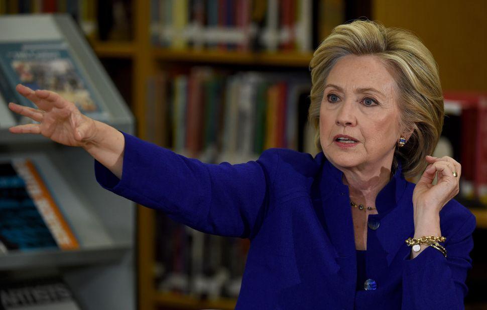 National Republicans Tweak Hillary for Being as Liberal as de Blasio