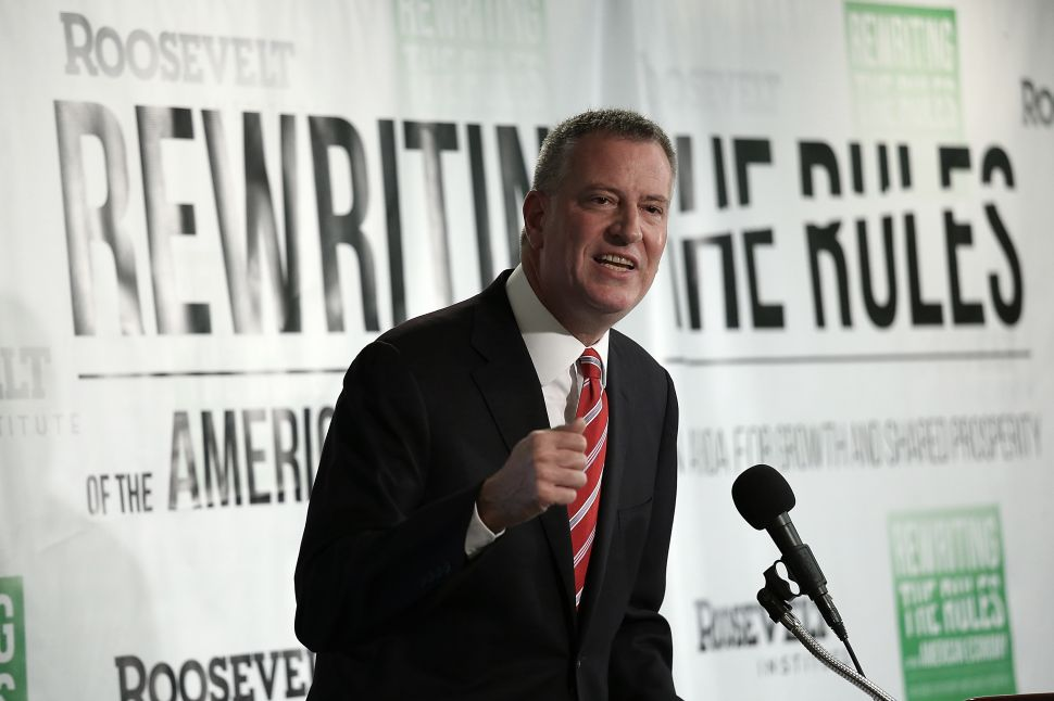 Is Bill de Blasio a Real Progressive? Activists Aren't Convinced