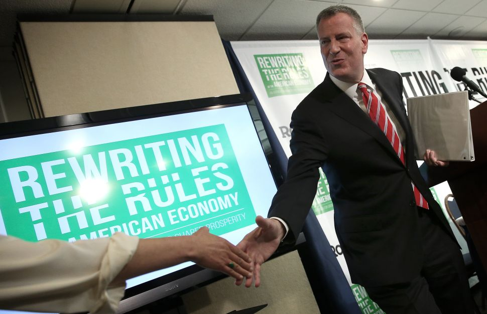 Bill de Blasio's Approval Ratings Are the Lowest They Have Ever Been