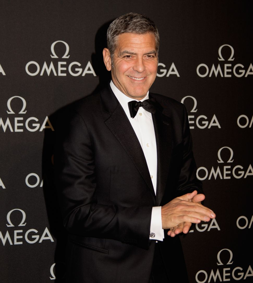 Omega & George Clooney Host an Evening in Houston