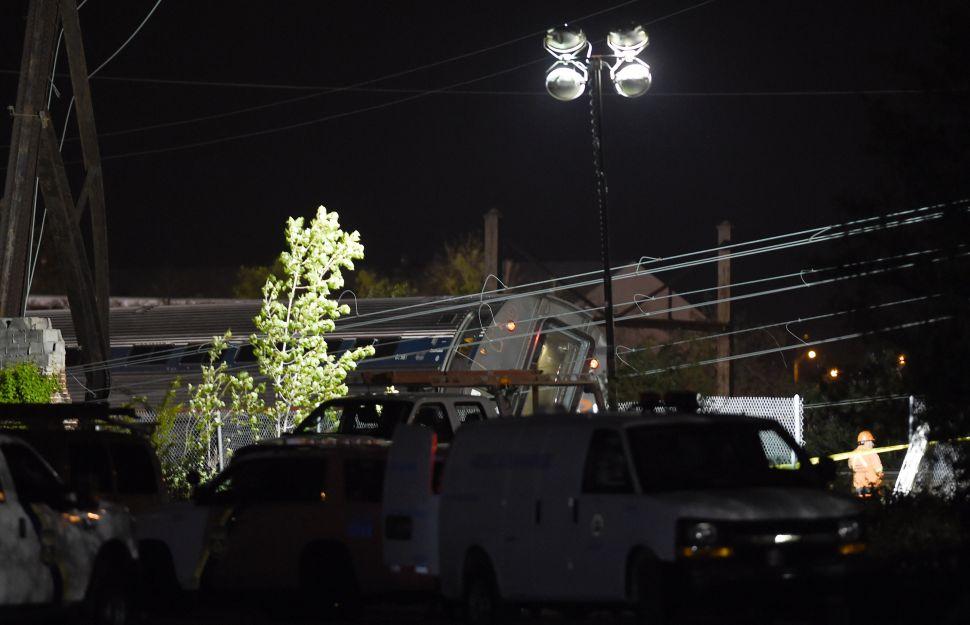 Amtrak Derailment Hits Home