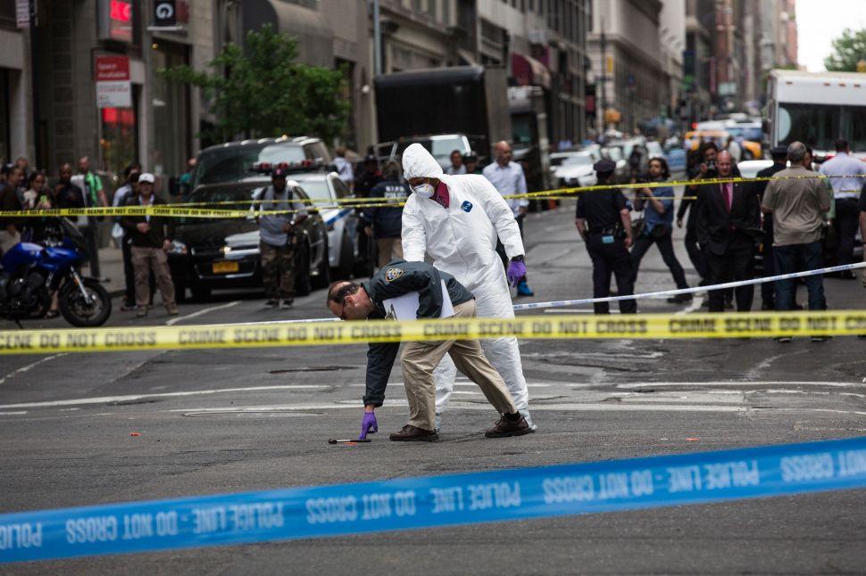 Police Shoot Hammer-Wielding Attacker Near Penn Station