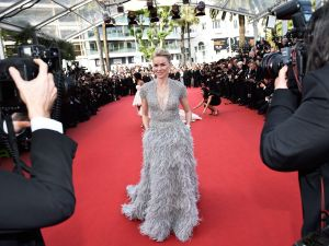 British actress Naomi Watts pose as she arrives for the opening ceremony of the 68th Cannes Film Festival in Cannes, southeastern France, on May 13, 2015. AFP PHOTO / BERTRAND LANGLOIS (Photo credit should read BERTRAND LANGLOIS/AFP/Getty Images)