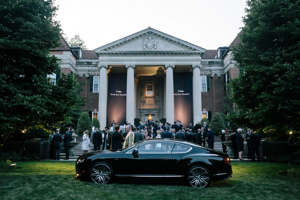 The British Embassy Hosts a 2-Day Debut Of Bentley x Savile Row