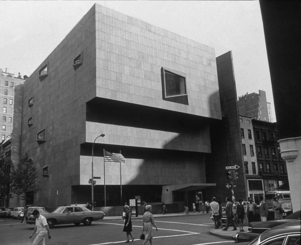 The Whitney Museum, Then And Now