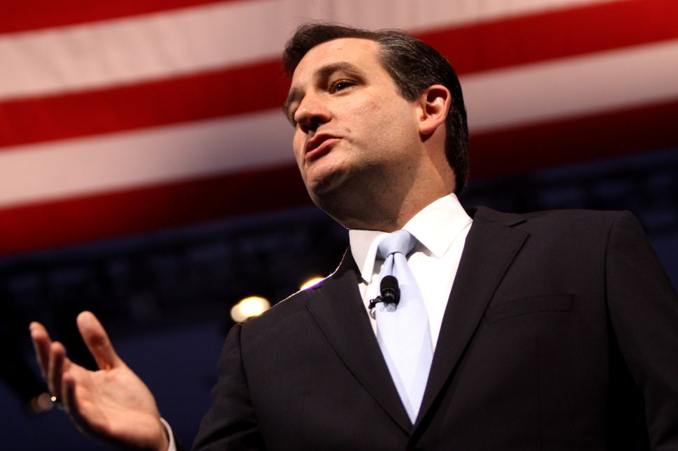 Ted Cruz's Long History of Being Right for All the Wrong Reasons