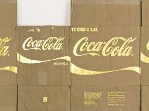 Danh Vo¯'s Untitled, Coca-Cola (2011). (Sotheby's New York)