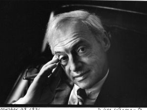 Saul Bellow photographed by Jill Krementz in Chicago on December 29, 1971.